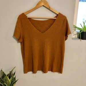 Urban Outfitters Project Social V-Neck T